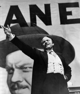 Orson Welles in Citizen Kane (1941) - Wikipedia Public Domain