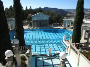 The Neptune Pool at the Hearst Castle  - Photo by Michael Daugherty